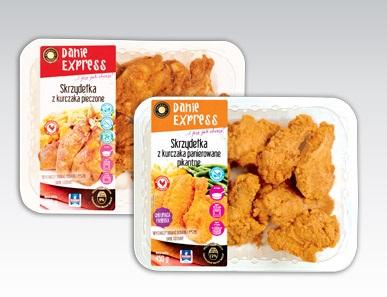 Skrzydełka z kurczaka Danie Express, 450 g