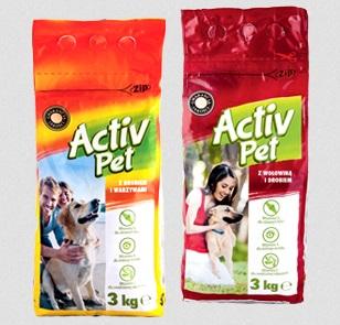 Karma dla psa sucha Activ Pet, 3 kg