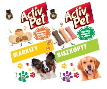 Karma dla psa snaki Activ Pet, 500 g