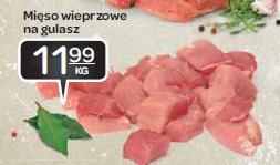 Mięso wieprzowe na gulasz