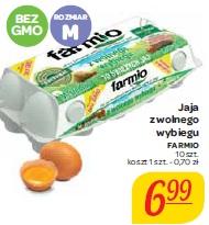 Jaja z wolnego wybiegu Farmio