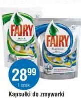 Kapsułki do zmywarki Fairy Procter&Gamble