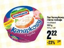 Ser kanapkowy różne rodzaje Hochland