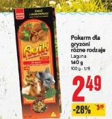 Pokarm dla gryzoni różne rodzaje Laguna