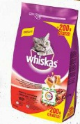Karma dla kota Whiskas Sterile lub Adult różne rodzaje Mars
