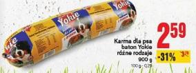 Karma dla psa baton Yokie różne rodzaje