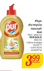 Płyn do mycia naczyń Pur, Pur Gold