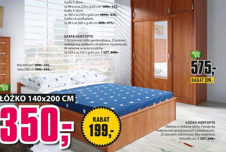 Łóżko Gentofte