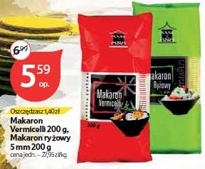 Makaron Vermicelli 200 g, Makaron ryżowy 5 mm 200 g