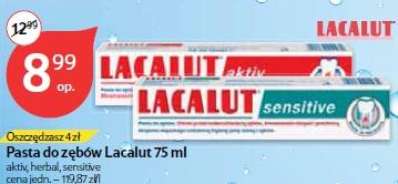Pasta do zębów Lacalut 75 ml