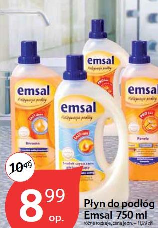 Płyn do podłóg Emsal 750 ml