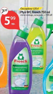 Płyn WC Frosch 750 ml