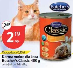 Karma mokra dla kota Butcher's Classic 400 g