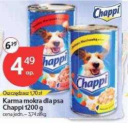Karma mokra dla psa Chappi 1200 g