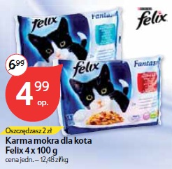 Karma mokra dla kota Felix 4 x 100 g
