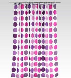 Zasłona prysznicowa, 180x200 cm