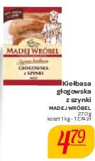 Kiełbasa głogowska z szynki Madej Wróbel