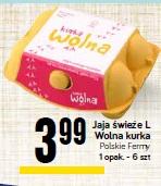 Jaja świeże L Wolna kurka Polskie Fermy
