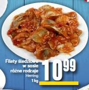 Filety śledziowe w sosie różne rodzaje Herring