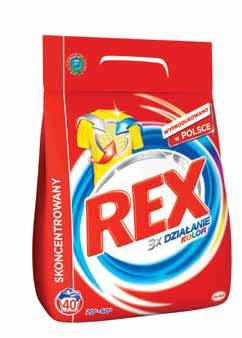 Proszek Rex różne rodzaje Henkel