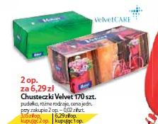 Chusteczki Velvet 170 szt.