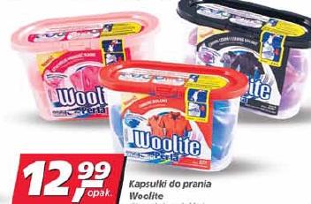 Kapsułki do prania Woolite