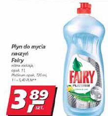Płyn do mycia naczyń Fairy