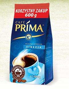 Kawa mielona Café Prima Finezja, 600 g