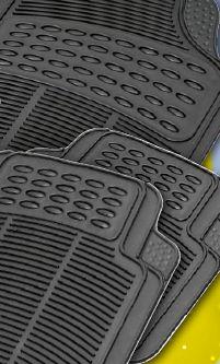 Komplet dywaników gumowych uniwersalnych BIRILLO