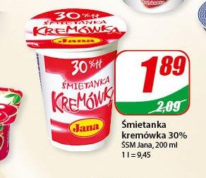 Śmietana Kremówka 30 %