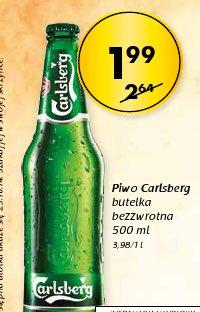 Piwo Carlsberg butelka bezzwrotna