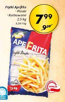 Frytki Apefrita › Proste › Karbowane