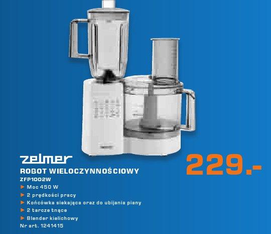 Zelmer Robot wieloczynnościowy ZFP1002W