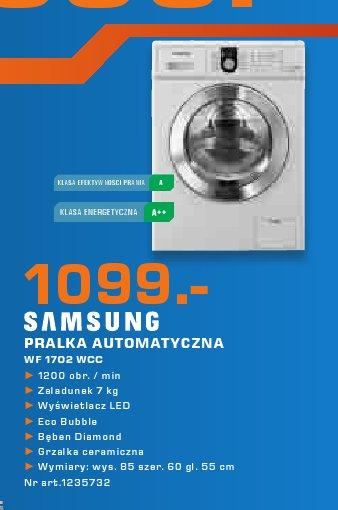 Samsung Pralka automatyczna WF 1702 WCC