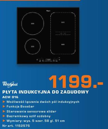 Whirlpool Płyta indukcyjna do zabudowy ACM 816