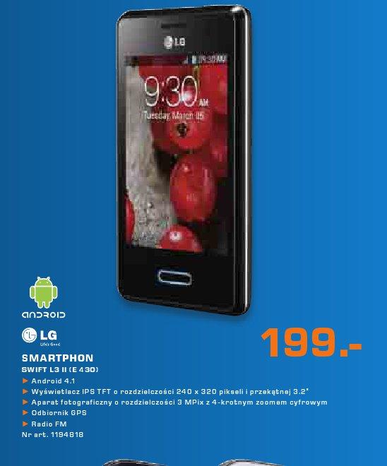 LG Smartphon SWIFT L3 II (E 430)