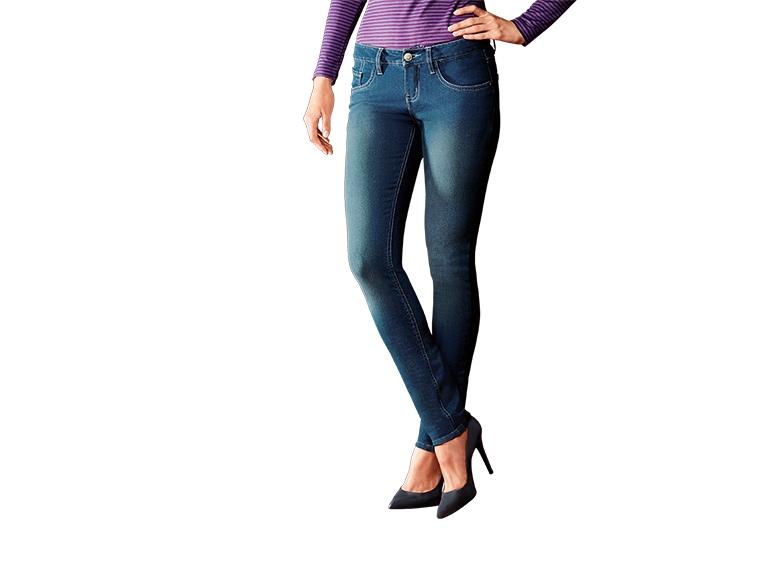Termiczne jeansy rurki