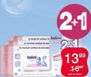 Bobini Baby chusteczki nawilżane dla dzieci i niemowląt