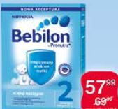 Bebilon mleko modyfikowane dla dzieci