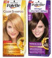 Palette farby do włosów