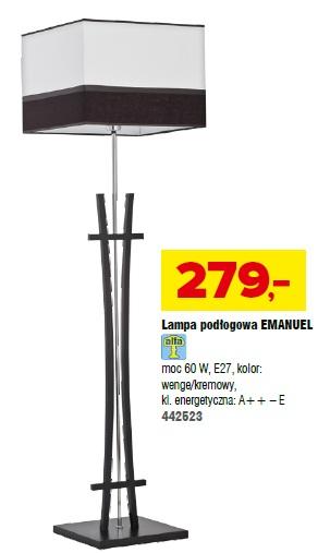 Lampa podłogowa Emanuel