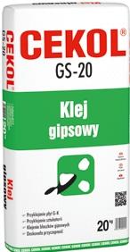 Klej gipsowy GS-20 20 kg