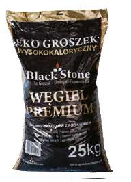 Węgiel opałowy Ekogroszek 25 kg
