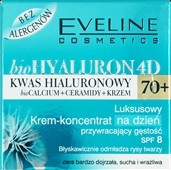 Eveline Biohyaluron 4D 70+ krem przeciwzmarszczkowy
