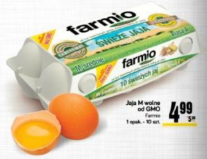 Jaja M wolne od GMO Farmio