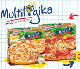 Pizza Rigga z szynką lub z pieczarkami Dr. Oetker