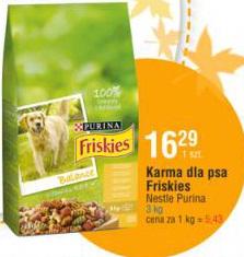 Karma dla psa Friskies Nestle Purina