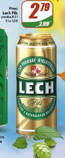 Piwo Lech Pils
