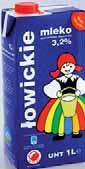 Mleko UHT Łowickie 3,2% 1 l