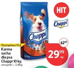 Karma sucha dla psa Chappi 10 kg